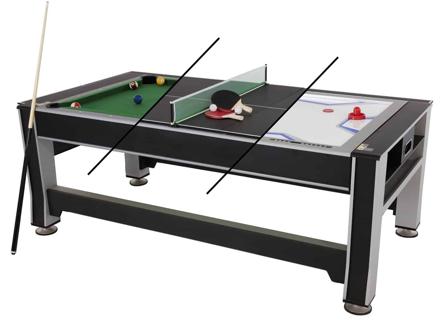 Dining Room Pool Table Combo Triumph Sports Usa Rotating Combo Table Review 2017